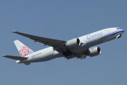 mogusaenさんが、成田国際空港で撮影したチャイナエアライン 777-Fの航空フォト(飛行機 写真・画像)