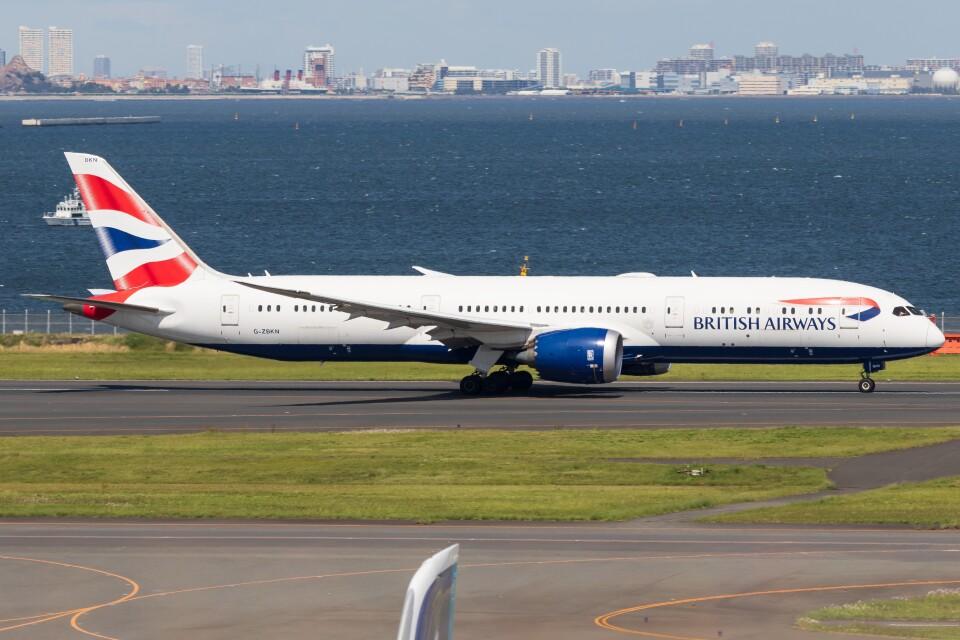 walker2000さんのブリティッシュ・エアウェイズ Boeing 787-9 (G-ZBKN) 航空フォト