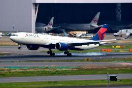 まいけるさんが、羽田空港で撮影したデルタ航空 A330-941の航空フォト(飛行機 写真・画像)