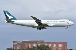 Izumixさんが、成田国際空港で撮影したキャセイパシフィック航空 747-867F/SCDの航空フォト(飛行機 写真・画像)