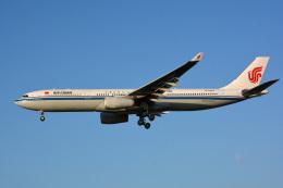 アルビレオさんが、成田国際空港で撮影した中国国際航空 A330-343Xの航空フォト(飛行機 写真・画像)