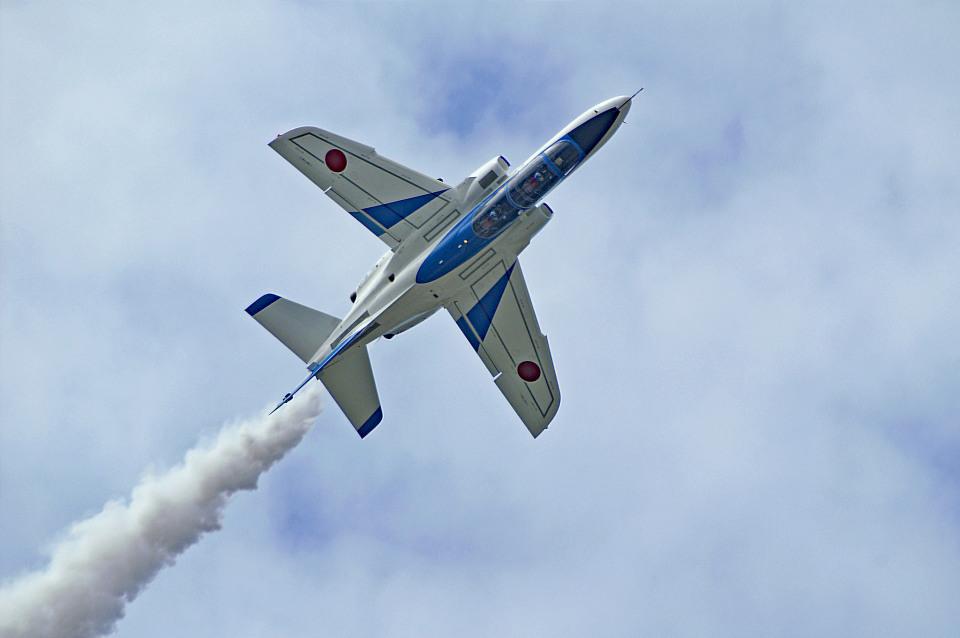 れぐぽよさんの航空自衛隊 Kawasaki T-4 (26-5805) 航空フォト