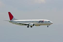 tsubameさんが、関西国際空港で撮影した日本トランスオーシャン航空 737-4Q3の航空フォト(飛行機 写真・画像)