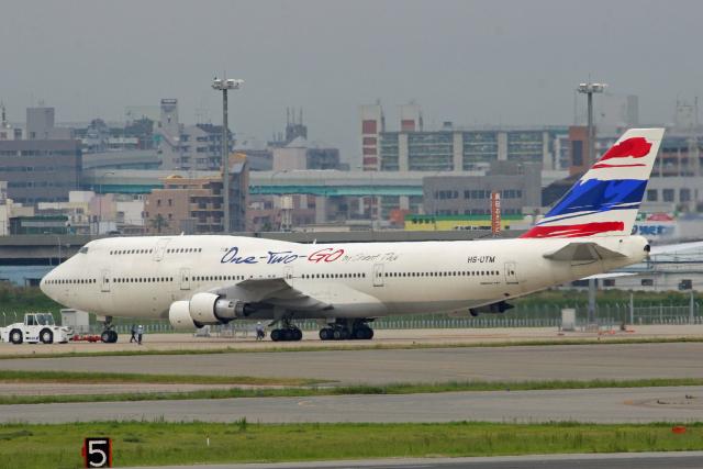 tsubameさんが、福岡空港で撮影したオリエント・タイ航空 747-146B/SR/SUDの航空フォト(飛行機 写真・画像)