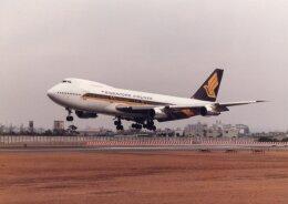 なかすぃ~さんが、伊丹空港で撮影したシンガポール航空 747-212Bの航空フォト(飛行機 写真・画像)