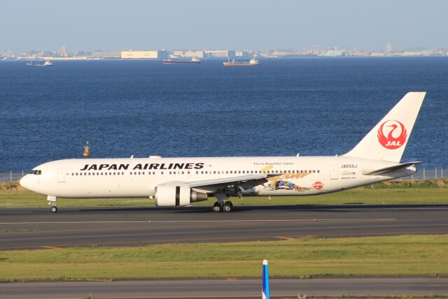 Rsaさんが、羽田空港で撮影した日本航空 767-346/ERの航空フォト(飛行機 写真・画像)