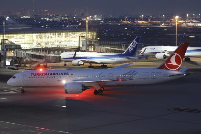 Sharp Fukudaさんが、羽田空港で撮影したターキッシュ・エアラインズ 787-9の航空フォト(飛行機 写真・画像)