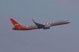 hiroki_h2さんが、香港国際空港で撮影したアビアスター 757-223(SF)の航空フォト(飛行機 写真・画像)