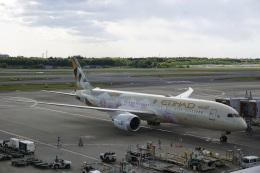 トレインさんが、成田国際空港で撮影したエティハド航空 787-9の航空フォト(飛行機 写真・画像)