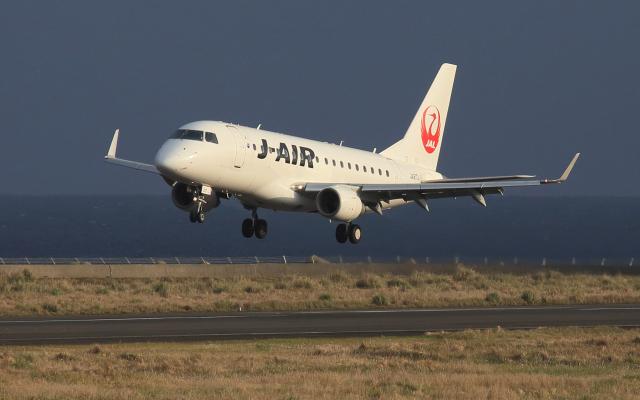CL&CLさんが、奄美空港で撮影したジェイエア ERJ-170-100 (ERJ-170STD)の航空フォト(飛行機 写真・画像)