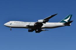 Deepさんが、成田国際空港で撮影したキャセイパシフィック航空 747-867F/SCDの航空フォト(飛行機 写真・画像)