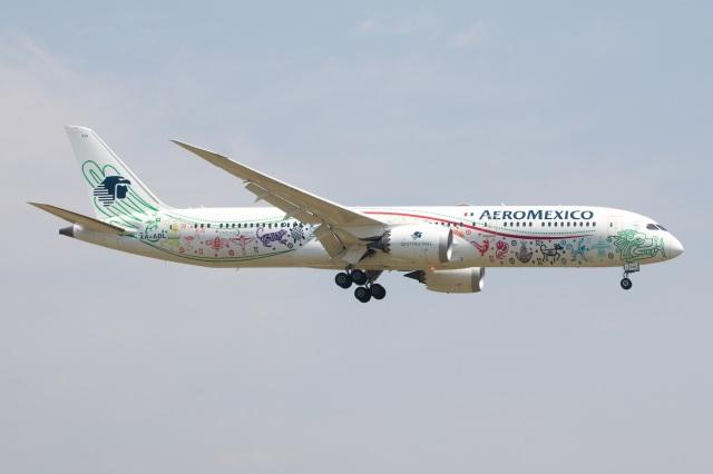 S.Hayashiさんが、成田国際空港で撮影したアエロメヒコ航空 787-9の航空フォト(飛行機 写真・画像)