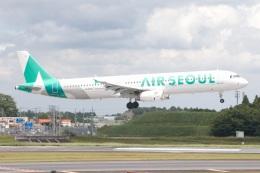 S.Hayashiさんが、成田国際空港で撮影したエアソウル A321-231の航空フォト(飛行機 写真・画像)