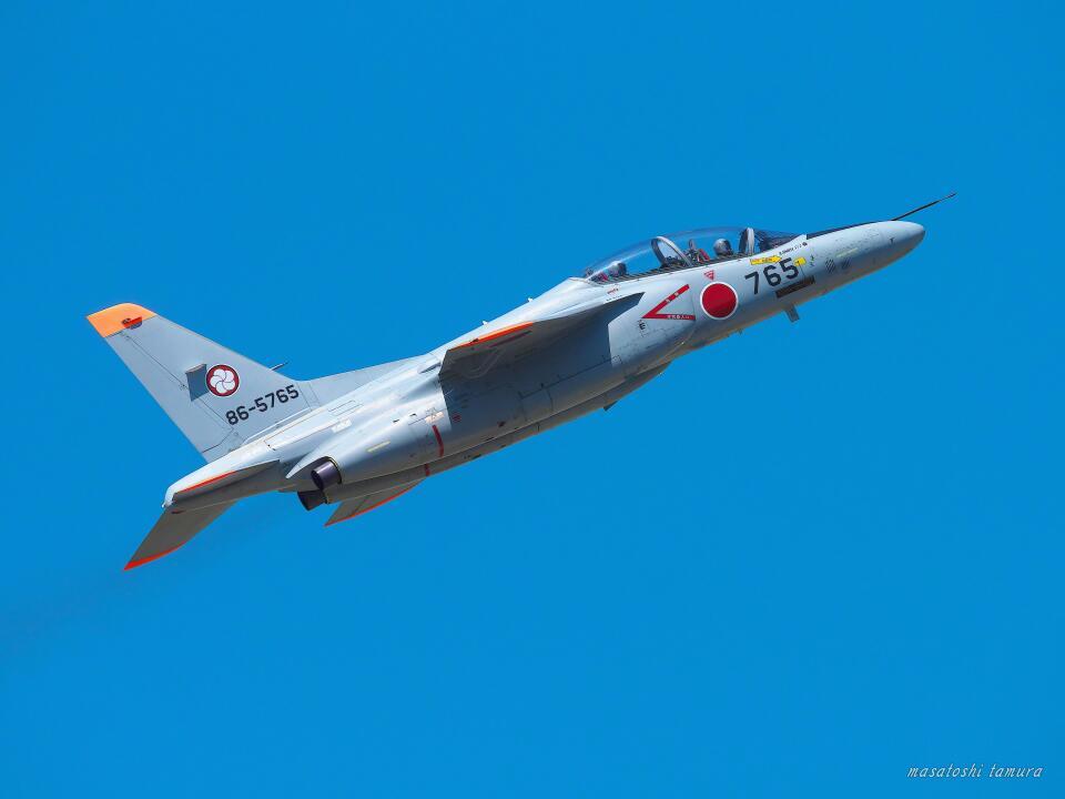 MASACHANさんの航空自衛隊 Kawasaki T-4 (86-5765) 航空フォト