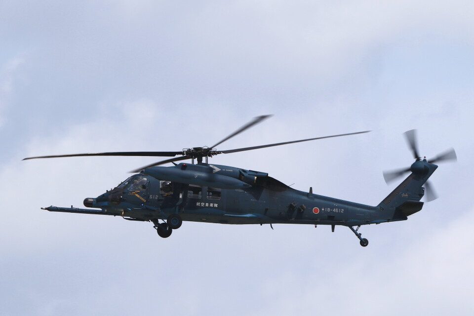 MH-38Rさんの航空自衛隊 Mitsubishi UH-60J (18-4612) 航空フォト