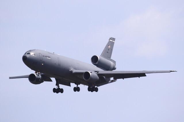 MH-38Rさんが、三沢飛行場で撮影したアメリカ空軍 KC-10A Extender (DC-10-30CF)の航空フォト(飛行機 写真・画像)