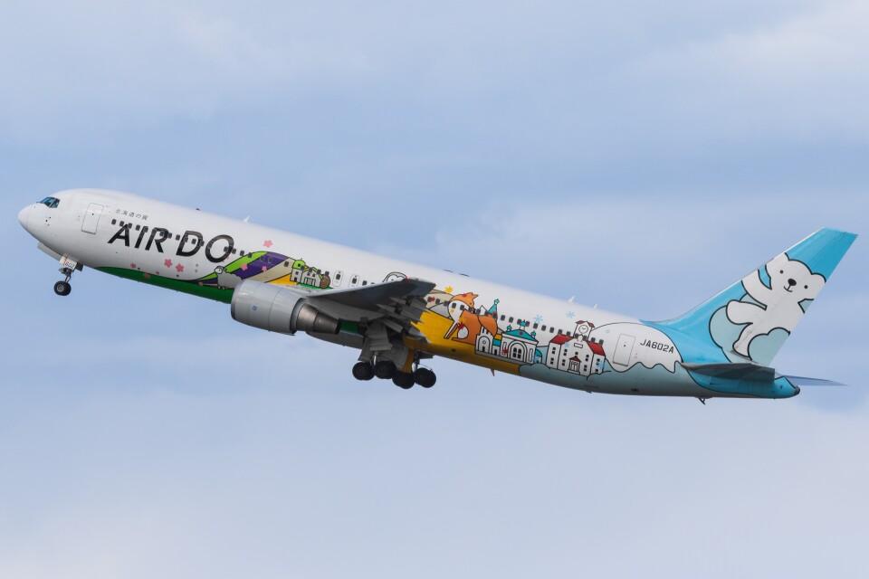 walker2000さんのAIR DO Boeing 767-300 (JA602A) 航空フォト