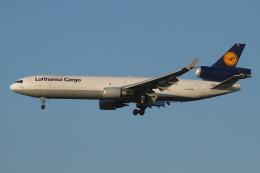 Deepさんが、成田国際空港で撮影したルフトハンザ・カーゴ MD-11Fの航空フォト(飛行機 写真・画像)