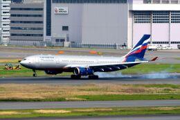 まいけるさんが、羽田空港で撮影したアエロフロート・ロシア航空 A330-243の航空フォト(飛行機 写真・画像)