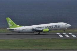 kumagorouさんが、羽田空港で撮影したソラシド エア 737-46Qの航空フォト(飛行機 写真・画像)