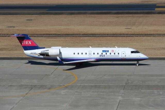 NIKEさんが、仙台空港で撮影したアイベックスエアラインズ CL-600-2B19 Regional Jet CRJ-200ERの航空フォト(飛行機 写真・画像)