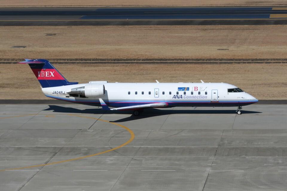 NIKEさんのアイベックスエアラインズ Bombardier CRJ-200 (JA04RJ) 航空フォト