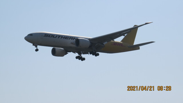 yurtarouさんが、成田国際空港で撮影したサザン・エア 777-FZBの航空フォト(飛行機 写真・画像)