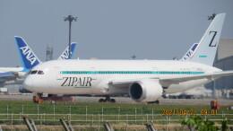 yurtarouさんが、成田国際空港で撮影したZIPAIR 787-8 Dreamlinerの航空フォト(飛行機 写真・画像)