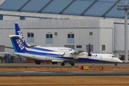 khideさんが、伊丹空港で撮影したANAウイングス DHC-8-402Q Dash 8の航空フォト(飛行機 写真・画像)