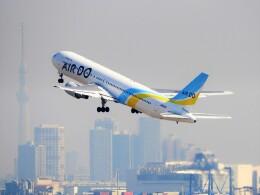 mich_stoneさんが、羽田空港で撮影したAIR DO 767-381/ERの航空フォト(飛行機 写真・画像)