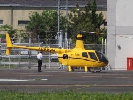 gennai04さんが、東京ヘリポートで撮影した日本法人所有 R66 Turbineの航空フォト(飛行機 写真・画像)