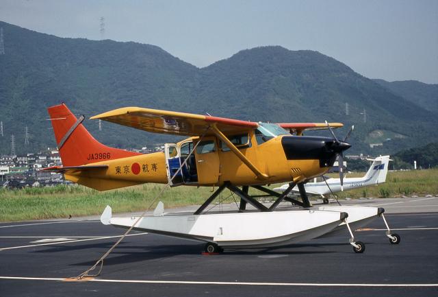 JAパイロットさんが、小倉空港で撮影した東京航空工業専門学校 U206G Stationair 6の航空フォト(飛行機 写真・画像)