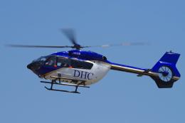 yabyanさんが、名古屋飛行場で撮影したディーエイチシー EC145T2の航空フォト(飛行機 写真・画像)