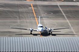 ヒロジーさんが、広島空港で撮影した電子航法研究所 B300の航空フォト(飛行機 写真・画像)