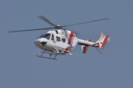 qooさんが、高松空港で撮影した四国航空 BK117C-1の航空フォト(飛行機 写真・画像)