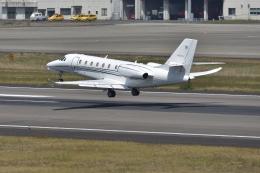 qooさんが、高松空港で撮影したノエビア 680 Citation Sovereignの航空フォト(飛行機 写真・画像)