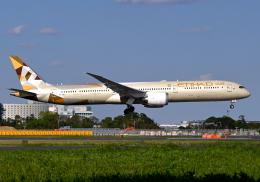雲霧さんが、成田国際空港で撮影したエティハド航空 787-10の航空フォト(飛行機 写真・画像)