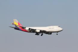 ベリックさんが、成田国際空港で撮影したアシアナ航空 747-48EF/SCDの航空フォト(飛行機 写真・画像)