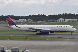 Flying A340さんが、成田国際空港で撮影したデルタ航空 A350-941の航空フォト(飛行機 写真・画像)