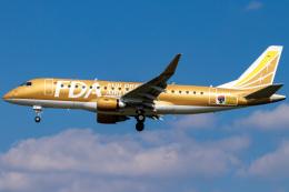 Yukio a.k.a Yu Worksさんが、福岡空港で撮影したフジドリームエアラインズ ERJ-170-200 (ERJ-175STD)の航空フォト(飛行機 写真・画像)