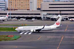 まいけるさんが、羽田空港で撮影した日本トランスオーシャン航空 737-846の航空フォト(飛行機 写真・画像)