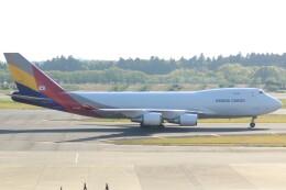 cassiopeiaさんが、成田国際空港で撮影したアシアナ航空 747-48EF/SCDの航空フォト(飛行機 写真・画像)