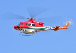 プリンスさんが、松本空港で撮影した長野県消防防災航空隊 412EPIの航空フォト(飛行機 写真・画像)