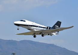 プリンスさんが、松本空港で撮影したジャプコン Citation Latitude(680A)の航空フォト(飛行機 写真・画像)