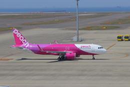 みのフォトグラファさんが、中部国際空港で撮影したピーチ A320-251Nの航空フォト(飛行機 写真・画像)