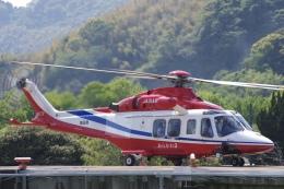ラムさんが、静岡ヘリポートで撮影した埼玉県防災航空隊 AW139の航空フォト(飛行機 写真・画像)