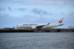 こじゆきさんが、那覇空港で撮影した日本航空 A350-941の航空フォト(飛行機 写真・画像)