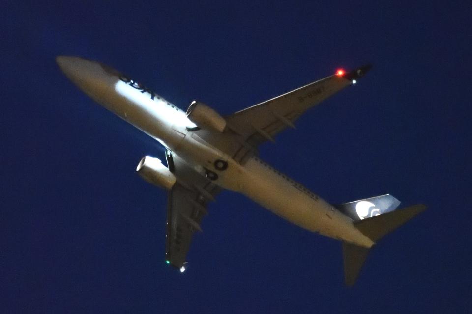 木人さんの山東航空 Boeing 737-800 (B-6987) 航空フォト