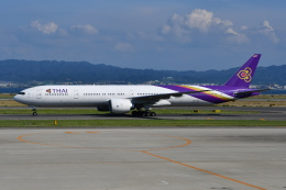 Deepさんが、関西国際空港で撮影したタイ国際航空 777-3AL/ERの航空フォト(飛行機 写真・画像)