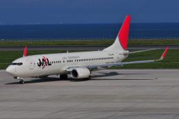 チャーリーマイクさんが、北九州空港で撮影したJALエクスプレス 737-846の航空フォト(飛行機 写真・画像)